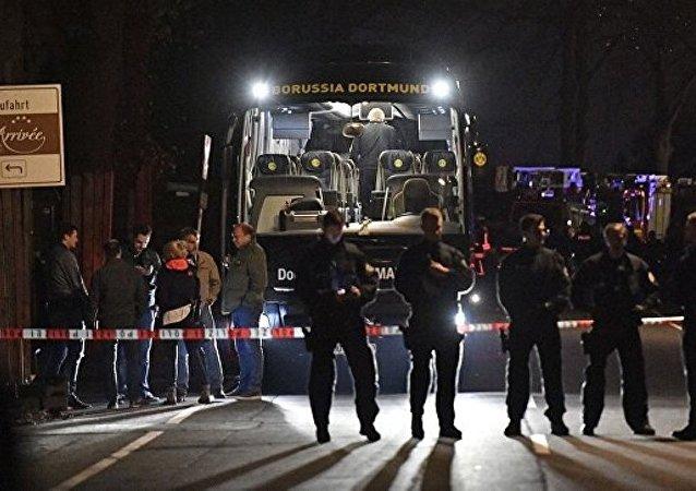 德国总检察院:多特蒙德队大巴旁爆炸的炸弹填充有金属物