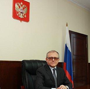 俄羅斯駐朝鮮大使亞歷山大·馬採戈拉