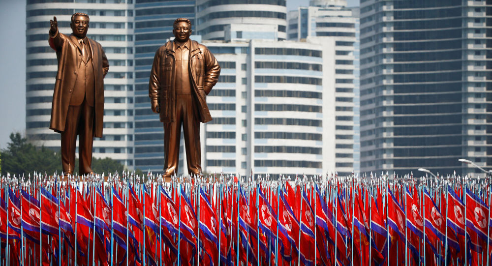 中国在朝鲜建国70周年之日表示对它支持
