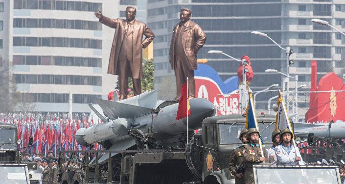 朝鮮閱兵式