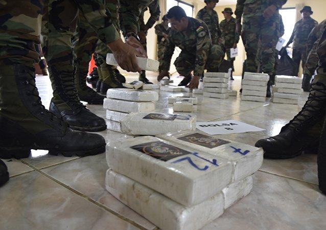 委內瑞拉搗毀15座毒品實驗室並銷毀3.2噸可卡因