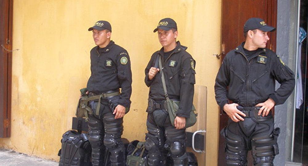 哥伦比亚警方