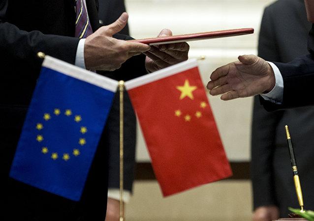中歐聯手抵制美國保護主義