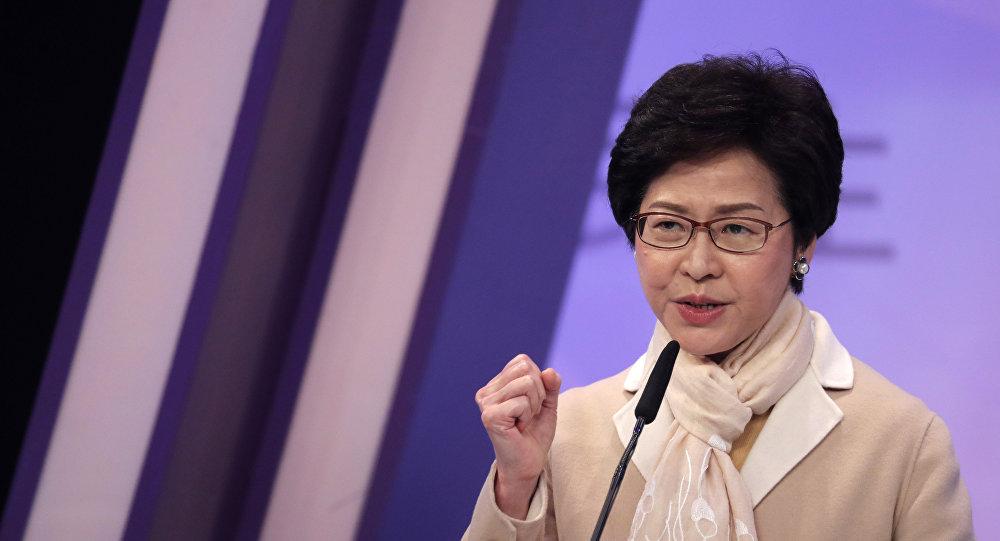 香港特首:《逃犯条例》法案已寿终正寝