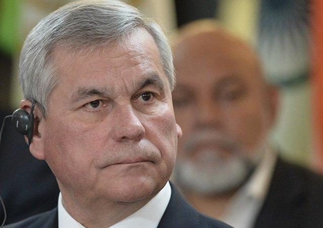 白俄罗斯共和国国民会议(议会下院)主席弗拉基米尔·安德烈琴科
