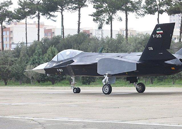 伊朗空軍一架戰機