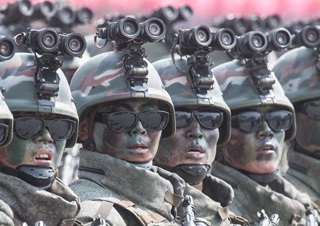"""朝鲜""""黑色忍者""""为何成为特种部队"""