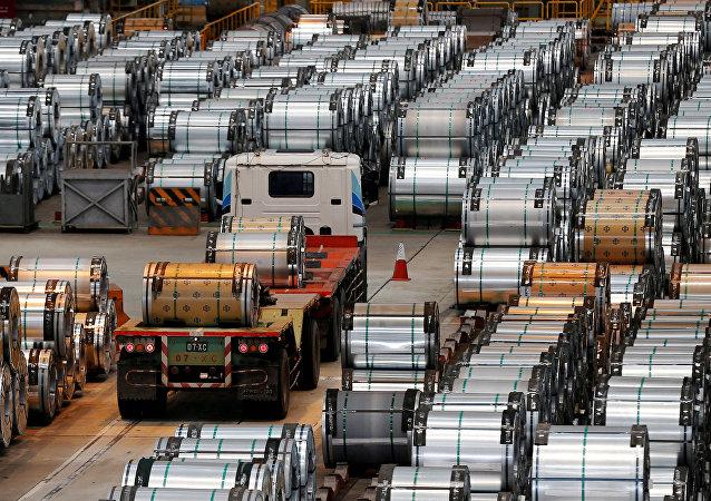 特朗普助推中日韓鋼企股價上漲