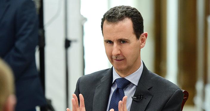 叙总统称不相信特朗普能控制美国