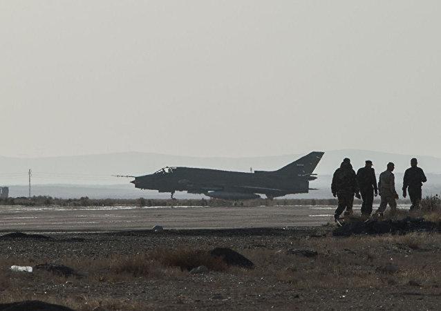 叙霍姆斯军用机场(资料图片)