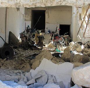 美国主导国际联盟发言人:该联盟未在叙伊德利卜与俄罗斯协作行动