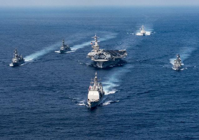 美国航母(资料图片)