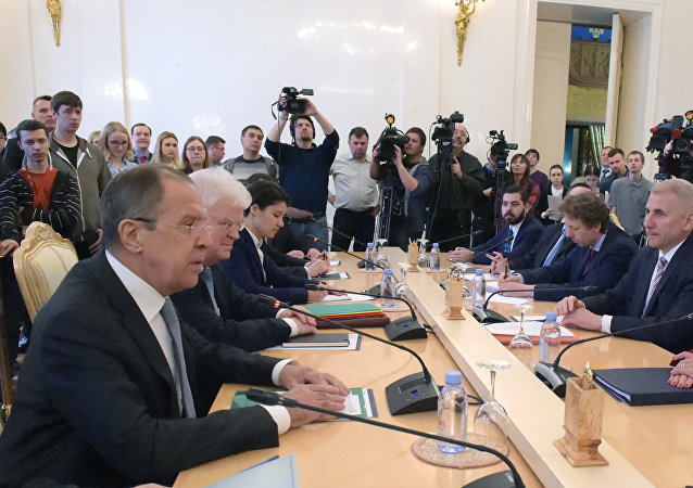 俄外长:俄欧重申共同关注加强政治对话