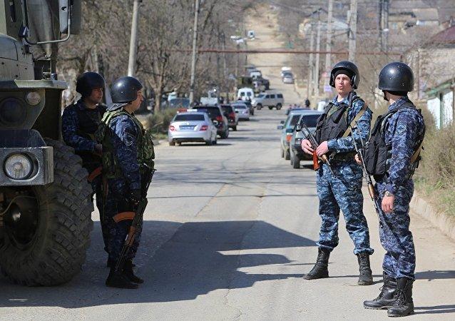 俄军:俄达吉斯坦共和国实行反恐行动状态