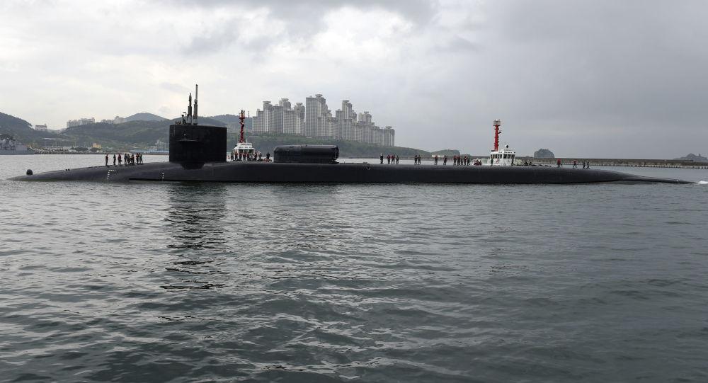 美国密歇根导弹核潜艇