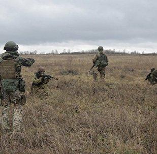 美軍教官在烏克蘭