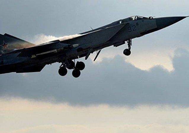 俄飞机一周内4次拦截外国侦察机