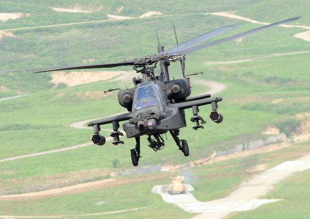 """""""阿帕奇""""直升机(Apache AH-64E)"""
