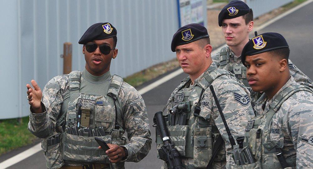 美国在韩国驻有2.85万名官兵