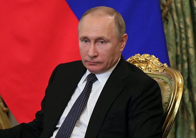 普京签署法律 批准欧委会关于资助恐怖主义问题的公约