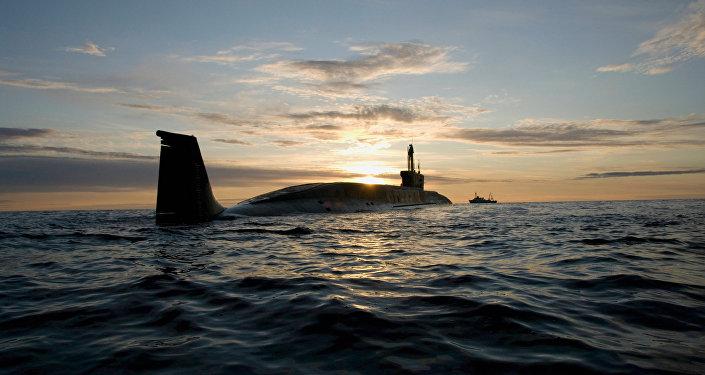 """""""尤里·多尔戈鲁基""""号核潜艇"""