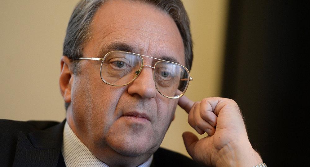俄羅斯外交部副部長米哈伊爾•鮑格丹諾夫