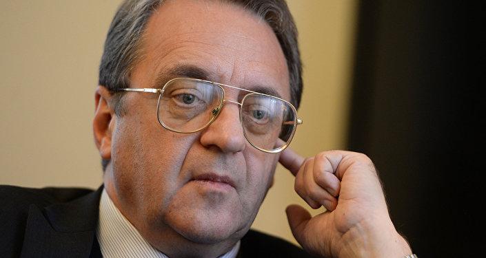 俄罗斯外交部副部长米哈伊尔•鲍格丹诺夫