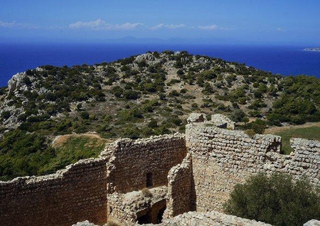 考古學家發現一處希臘古城遺址