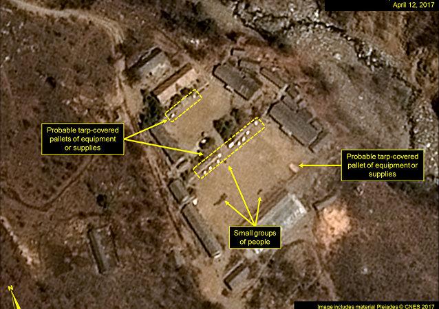 朝鮮豐溪里核試驗場 (資料圖片)