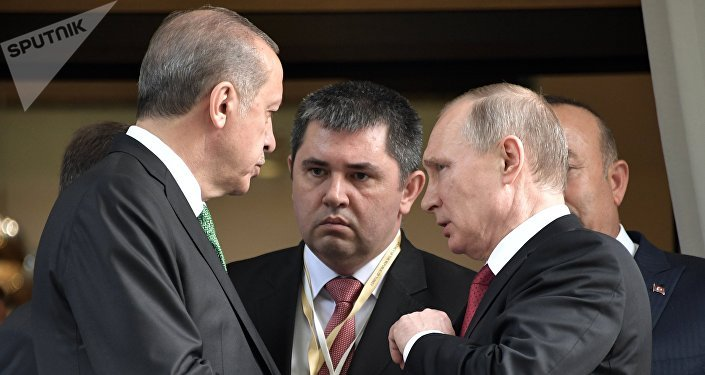 土耳其總統埃爾多安與俄羅斯總統普京