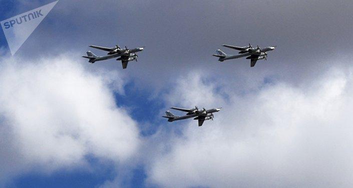 俄罗斯图-95战机