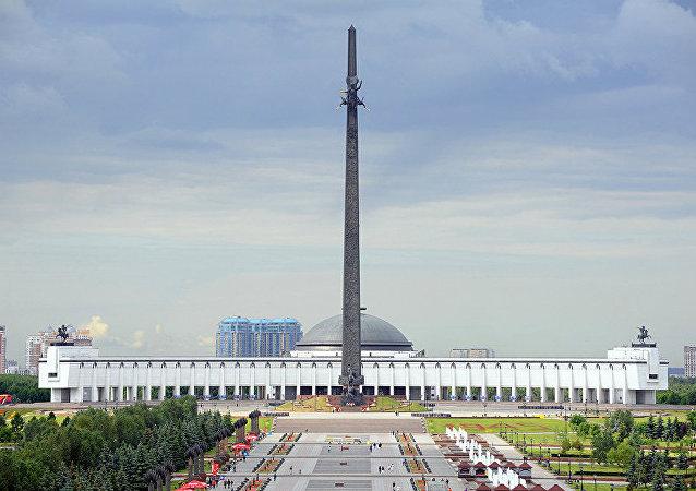 俄蒙人民反法西斯鬥爭紀念碑在莫斯科揭幕