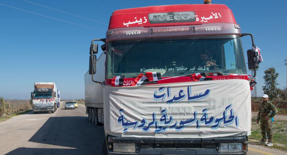 美国联军欲协助向叙鲁克班难民营运送人道主义援助