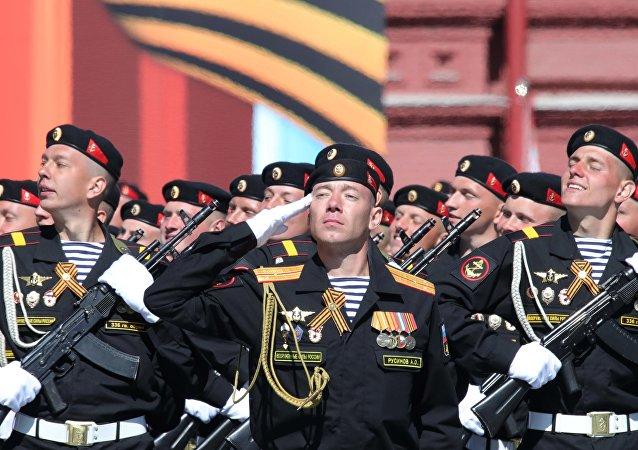 俄海军陆战队