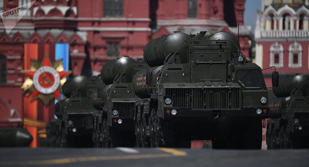 莫斯科,红场阅兵,S-400(资料图片)