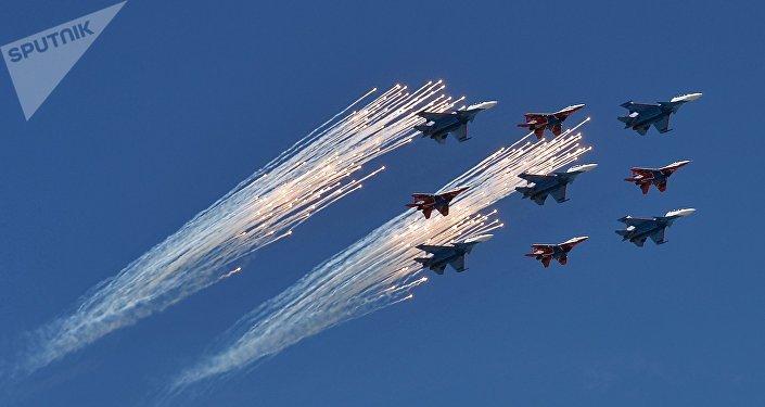 """俄空天军总司令:在""""爱国者""""公园可了解俄空天军所有成果"""