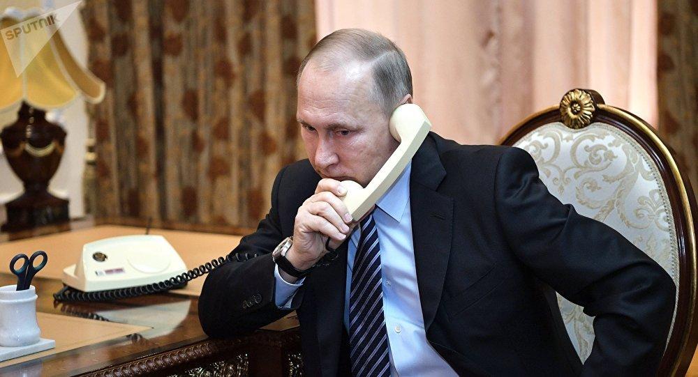消息人士:普京与埃尔多安通电话讨论叙利亚局势