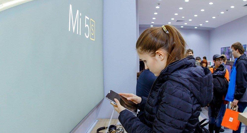 Открытие флагманского магазина Xiaomi