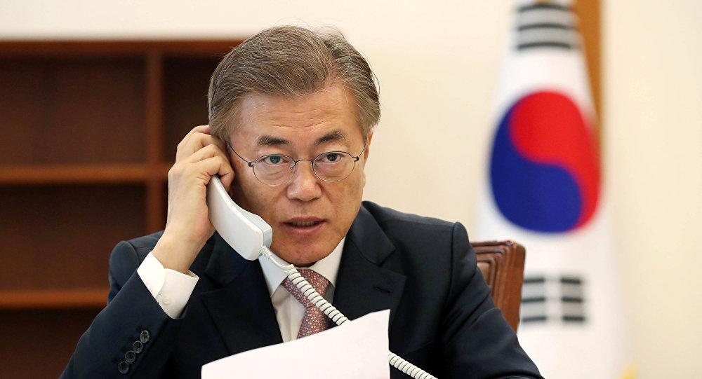 媒体:韩美领导人今晚通电话就金特会进行沟通