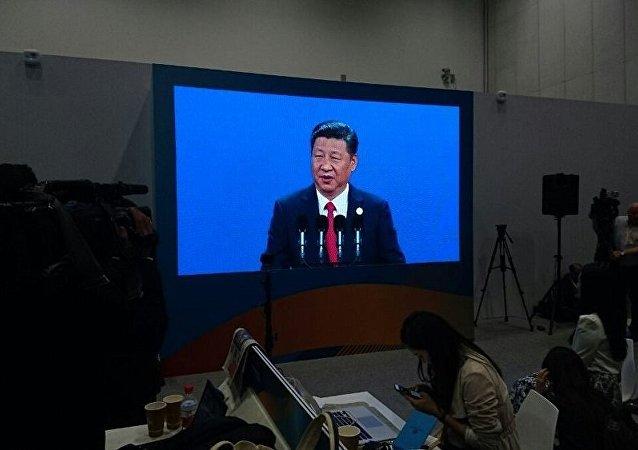 """中国国家主席出席""""一带一路""""开幕式"""