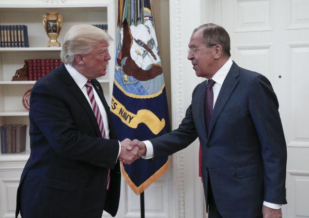媒體:白宮針對特朗普與拉夫羅夫交談記錄實施管制