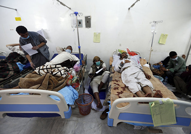 世衛組織:在也門已有50余萬人感染霍亂
