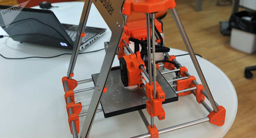 俄科学家研发出独特的3D打印技术