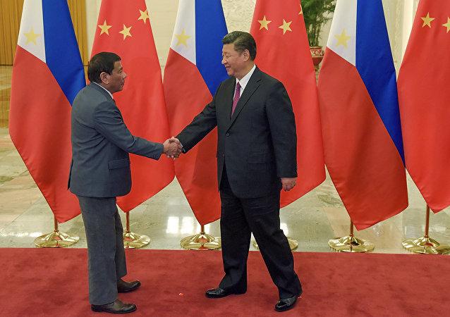 中國與菲律賓將開啓雙邊關係黃金時代