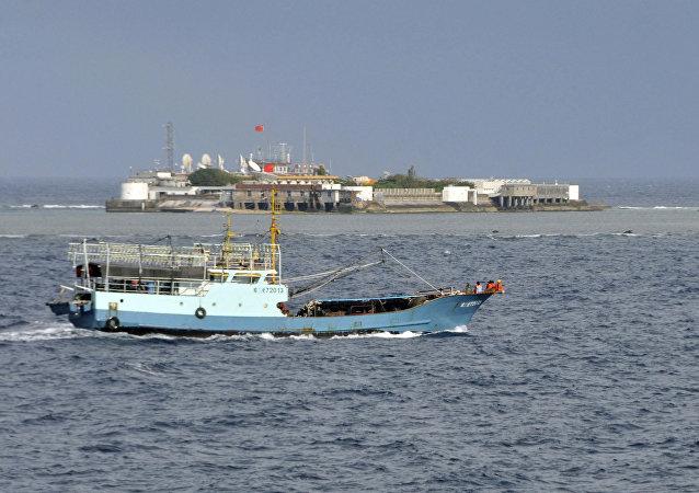 中國外交部:個別南海域外國家和極個別東盟國家對南海形勢向好視而不見