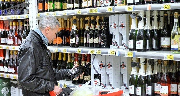 民调:近三分之一俄公民称不喝酒