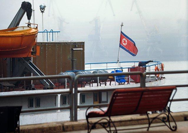 俄政府未放行朝鲜轮船