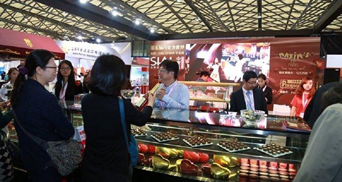 俄罗斯在上海举办品鉴会