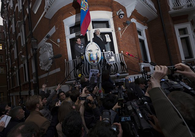 厄瓜多尔总统称阿桑奇或很快离开厄驻英使馆
