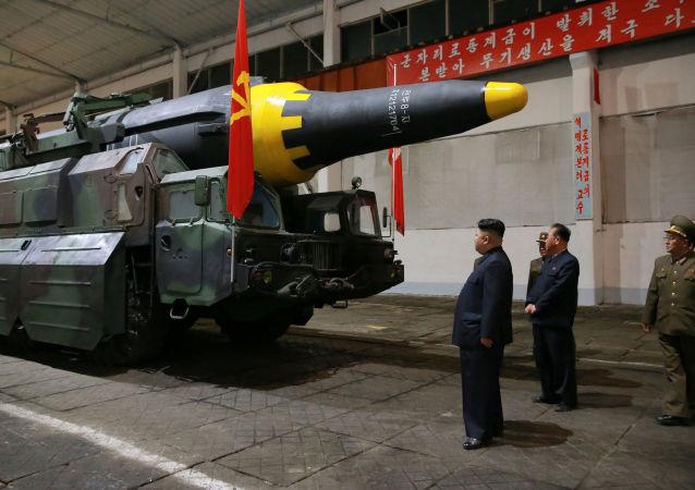 """外媒:朝鲜证实进行""""火星-12""""导弹试验"""